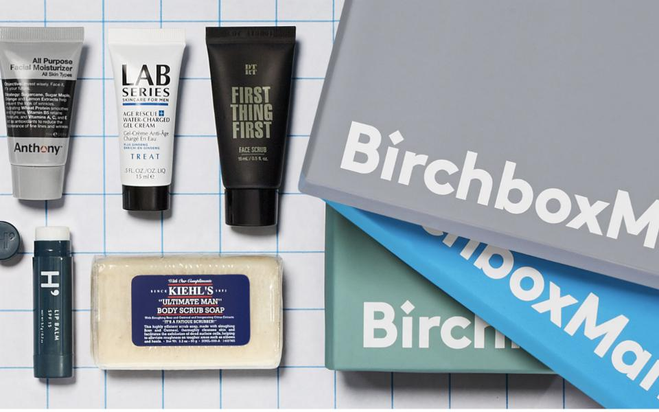 Birchbox Monthly Grooming Subscription Box for Men