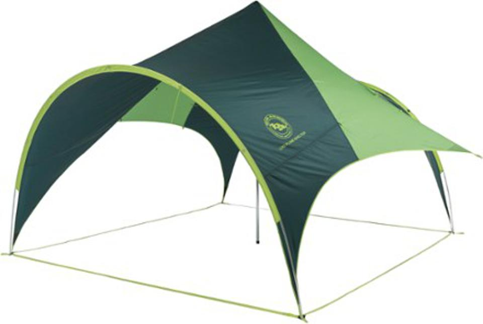 Shelter tent.