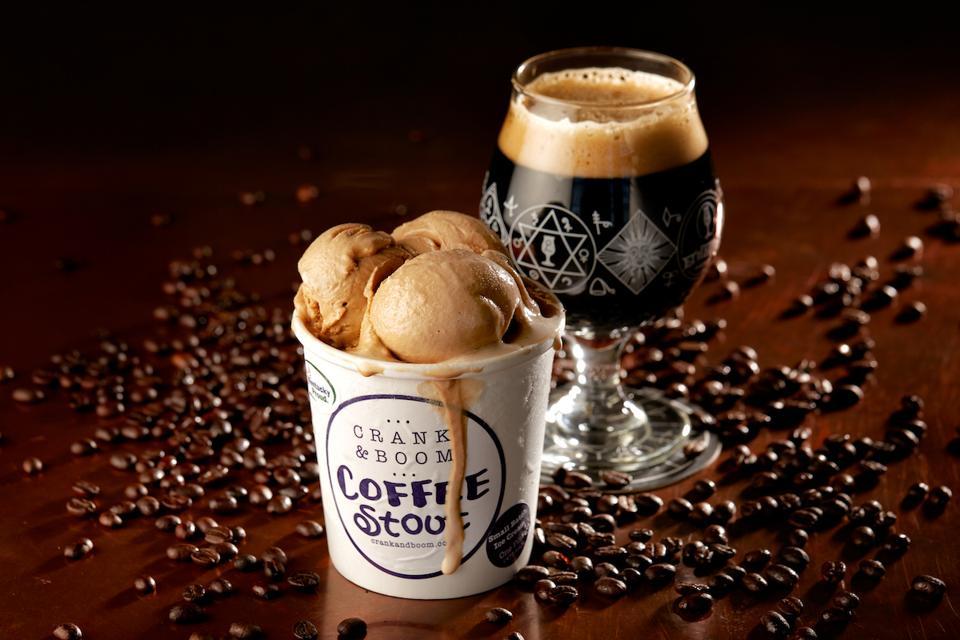Crank & Boom Coffee Stout Ice Cream Pint