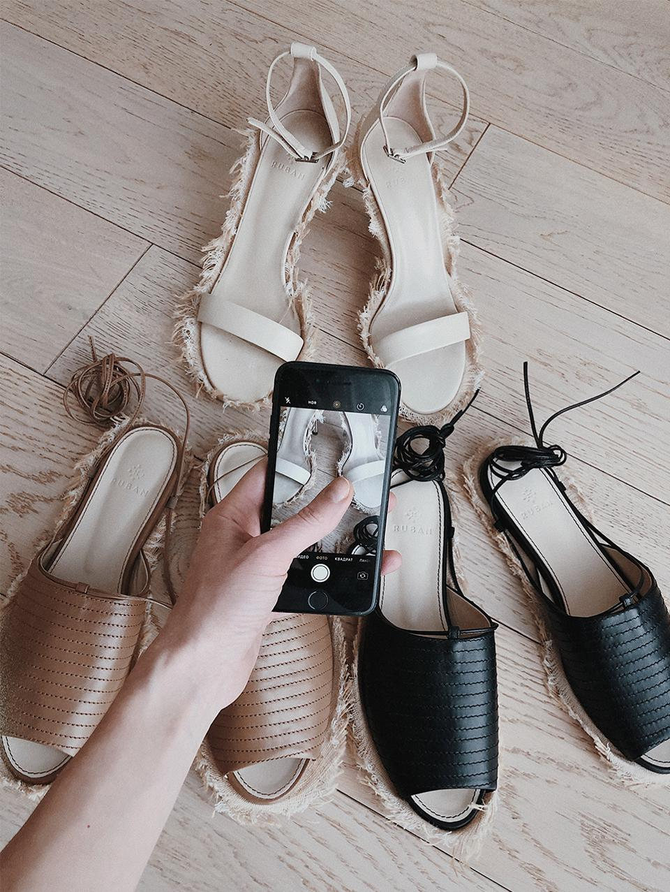 Footwear from the Ruban's Cruise 2020 collection