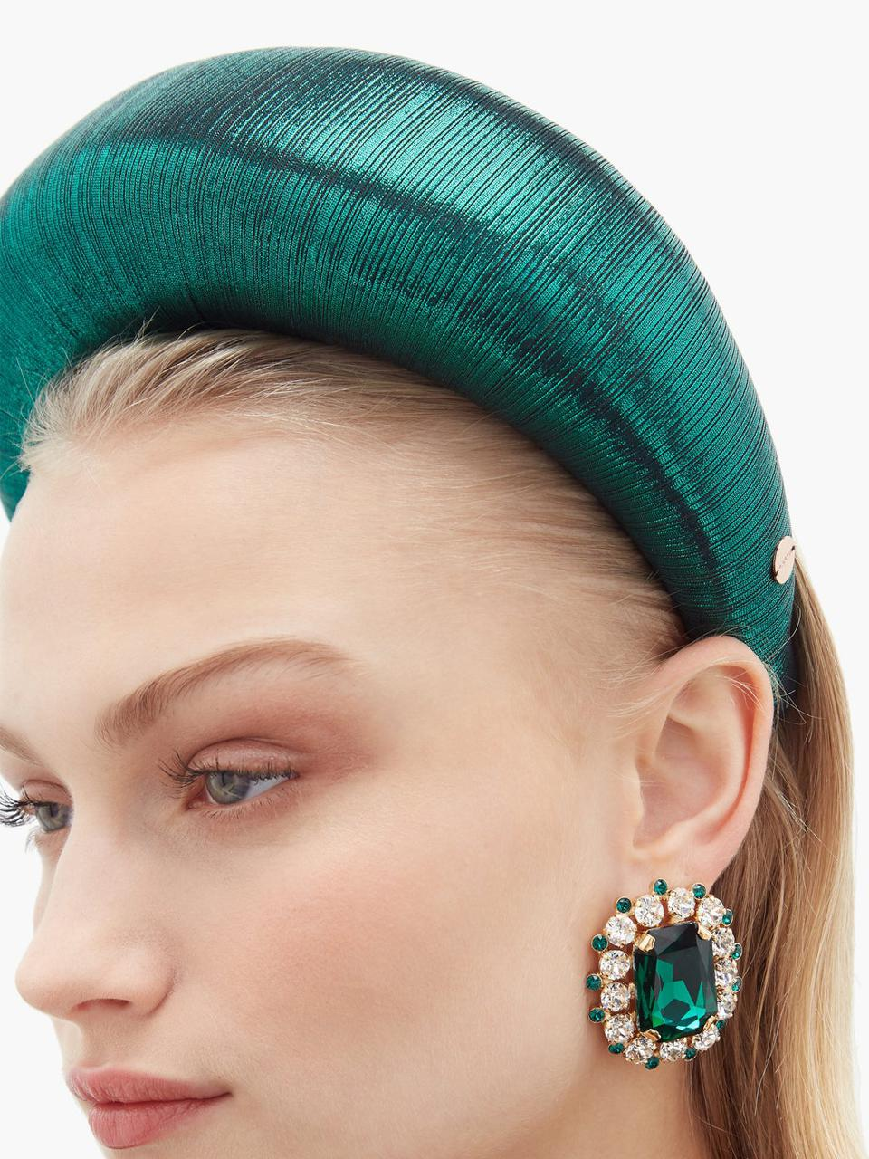 Edvige lamé headband by FLAPPER: