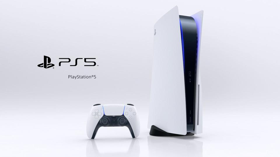 The PS5 photo with White Layout