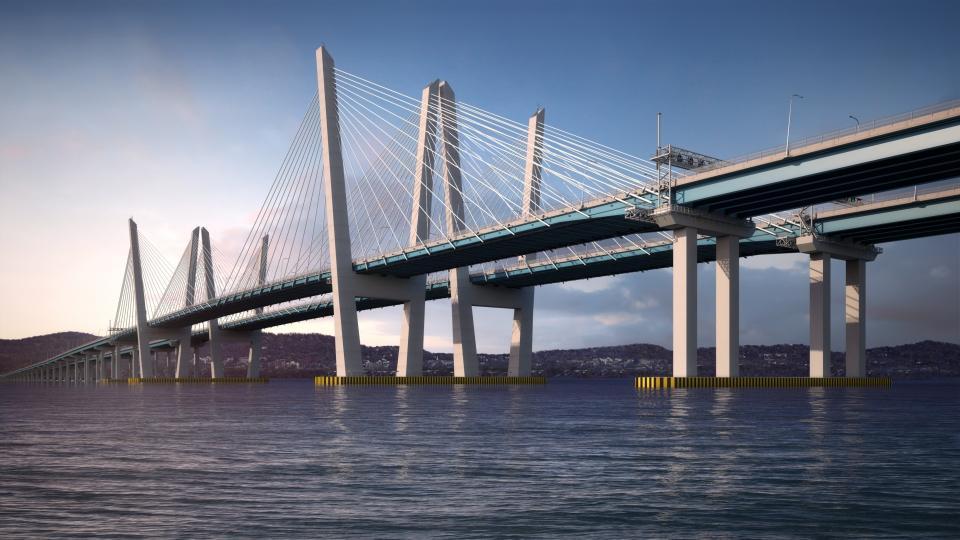 The Mario M. Cuomo Bridge opened in 2017.