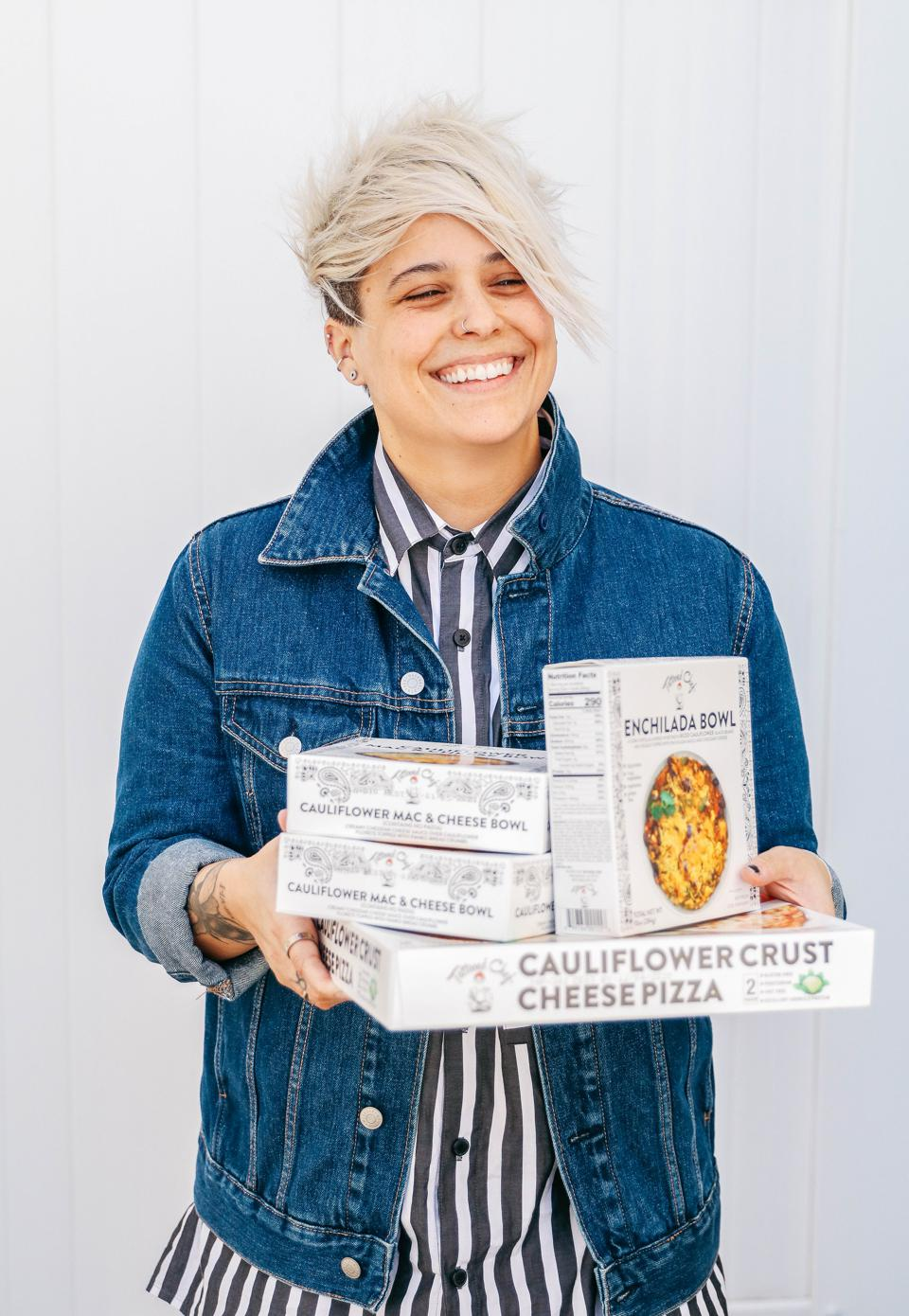 Sarah Galletti is the creator of Tattooed Chef.