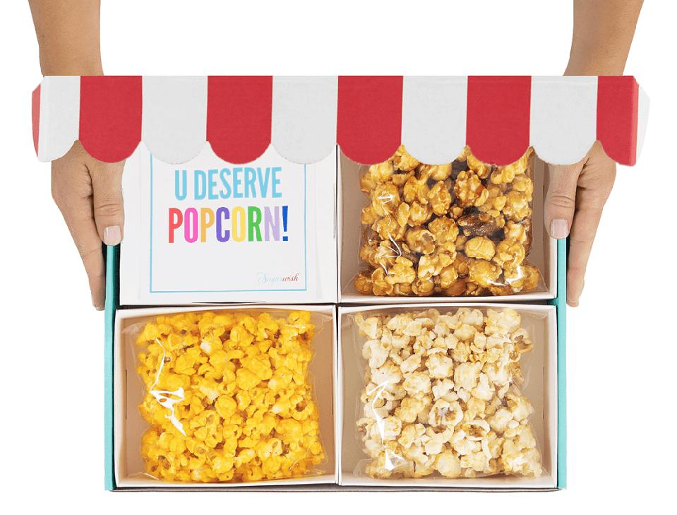 Sugarwish Popcorn Three Pick