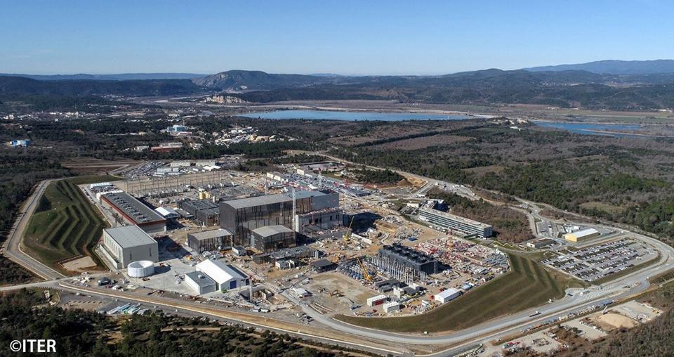 The world's largest tokamak is currently under construction at ITER in southern France.