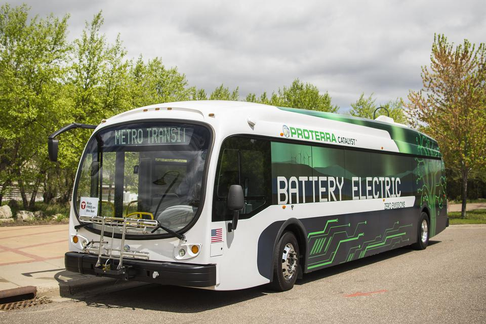 Proterra Electric Bus Demonstration.
