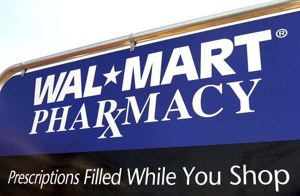 Wal-Mart Announces Large Cut In Generic Prescription Drug Prices