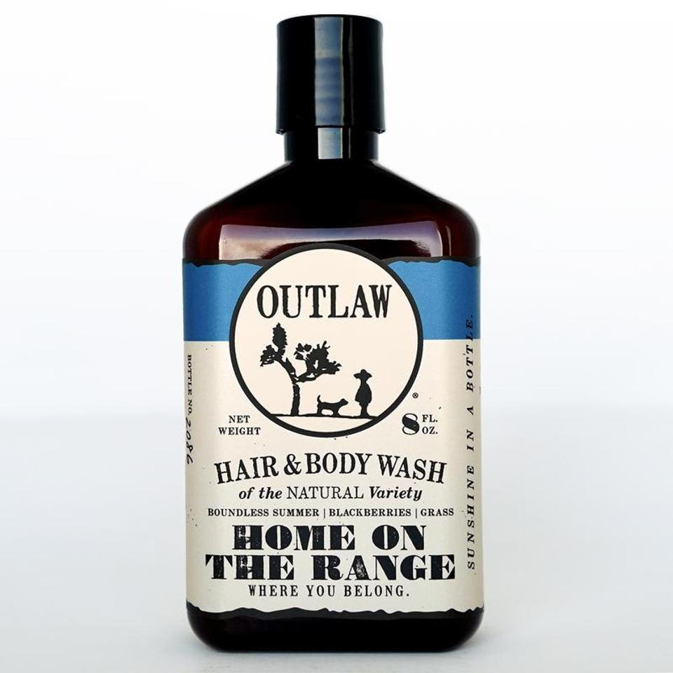 Home on the Range Body Wash from Outlaw.  PC:
