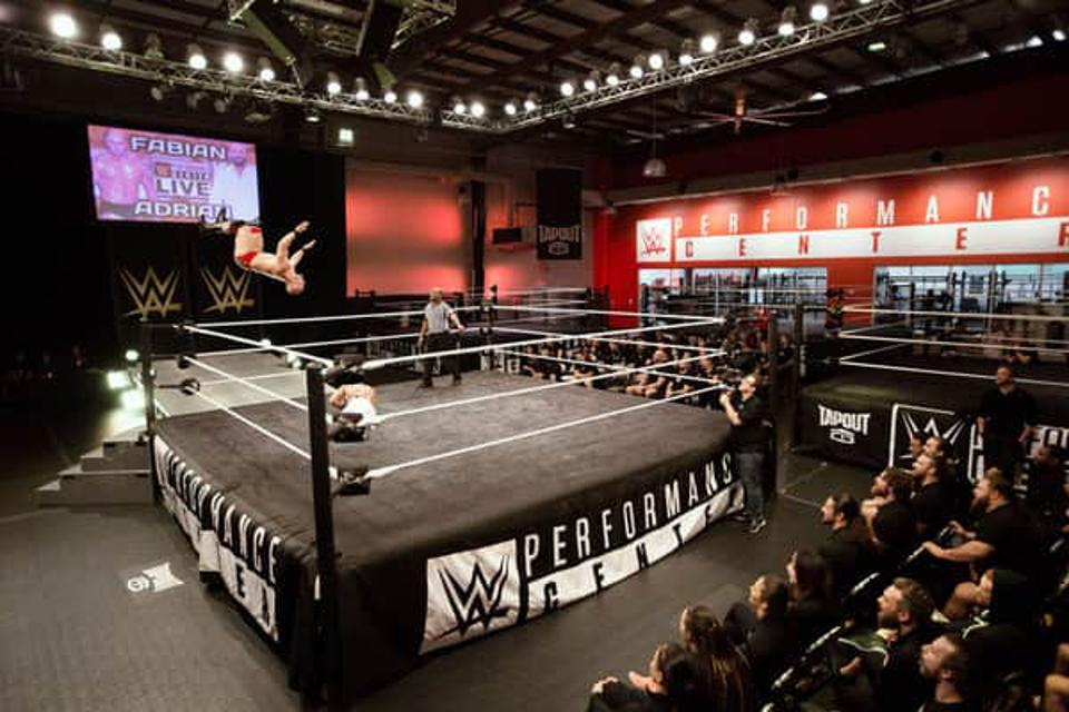 A WWE developmental talent has tested positive for COVID-19 per statement by WWE.