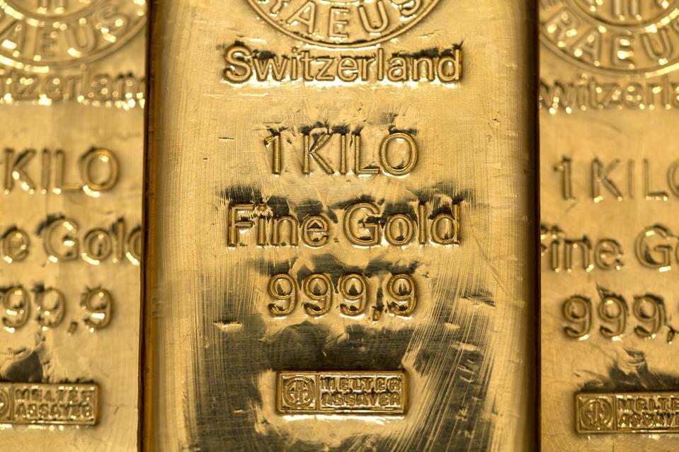 Gold Bullion As Central Banks Buy More Debt