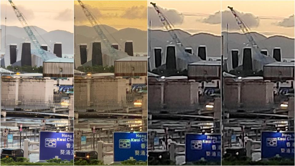 10X zoom, where the differences in capabilities and quality show itself.