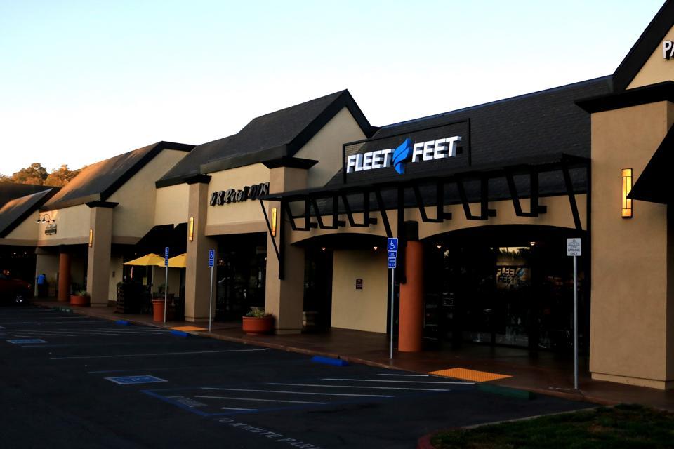 Exterior Fleet Feet Store