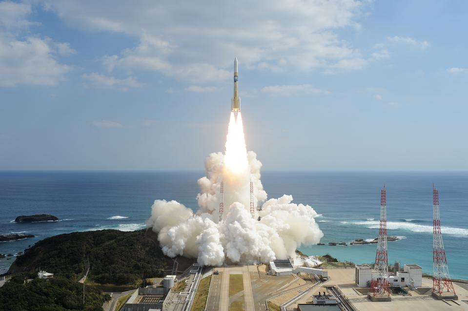 Japan's H-IIA rocket will launch the UAE's Emirates Mars MIssion.