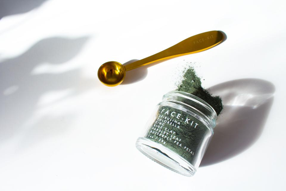 clean beauty face mask