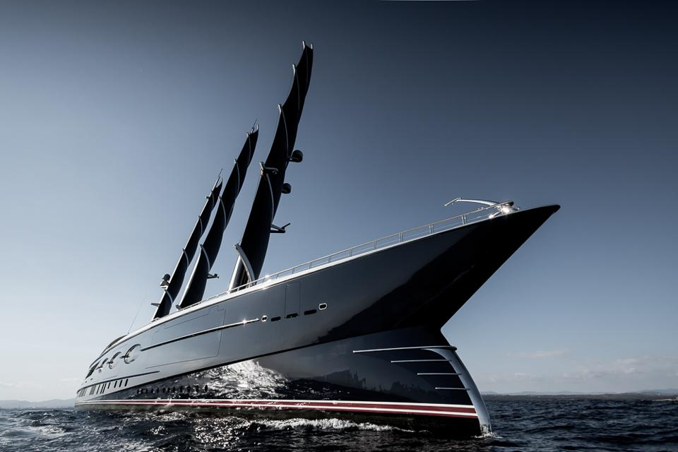 Black Pearl's distinctive bow
