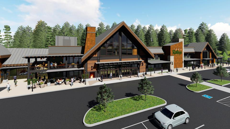 Artist rendering of the new Raley's O-N-E Market that will open June 27, 2020 in Truckee California