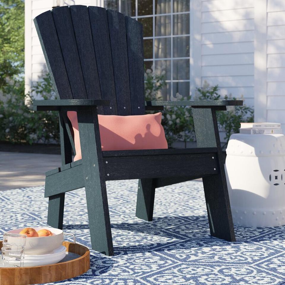 Sol 72 Outdoor Colworth Plastic Adironack Chair