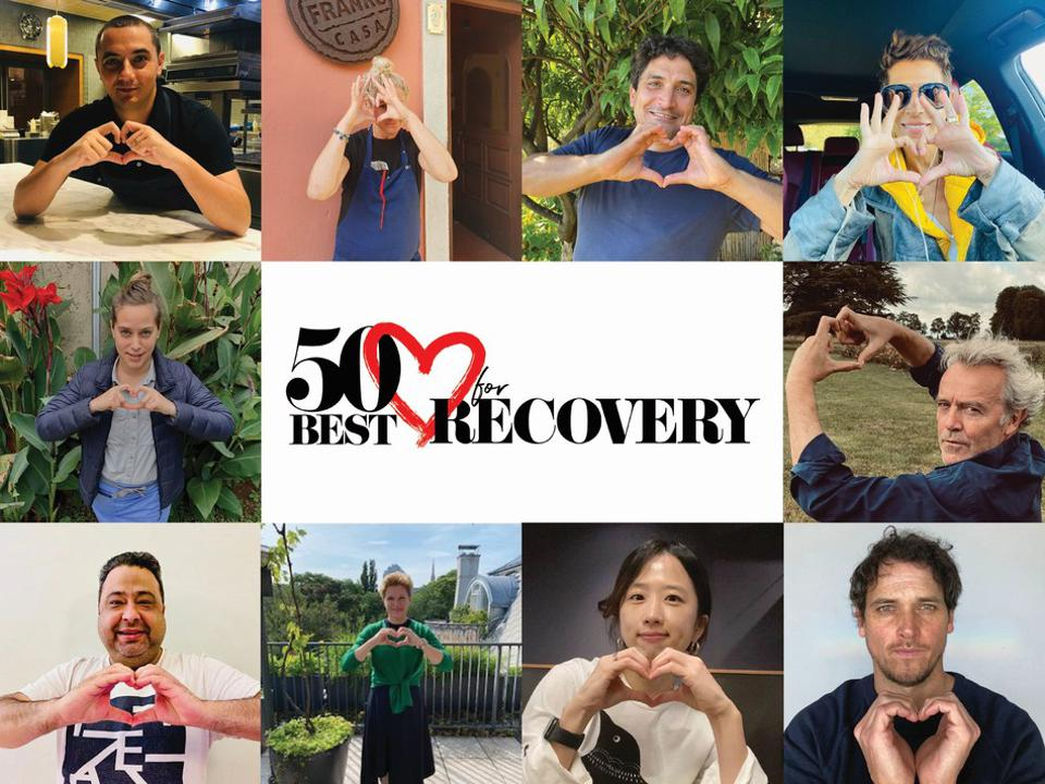 Chefs-heart-collage for 50 Best for Recovery campaign