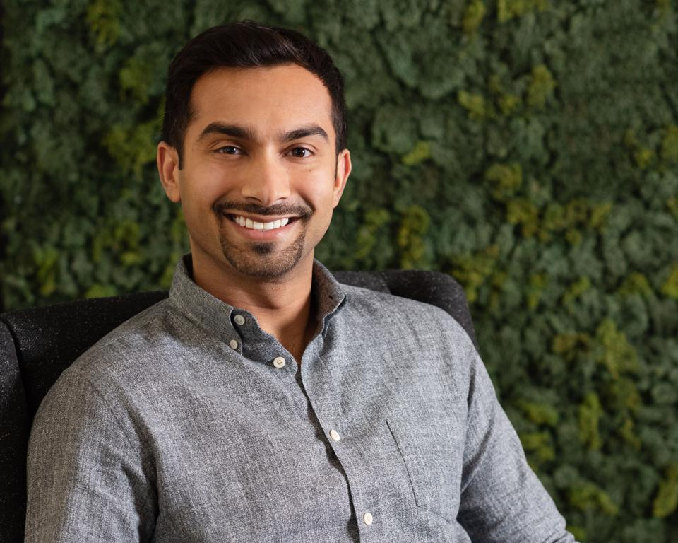 Apoorva Mehta, founder and CEO of Instacart.