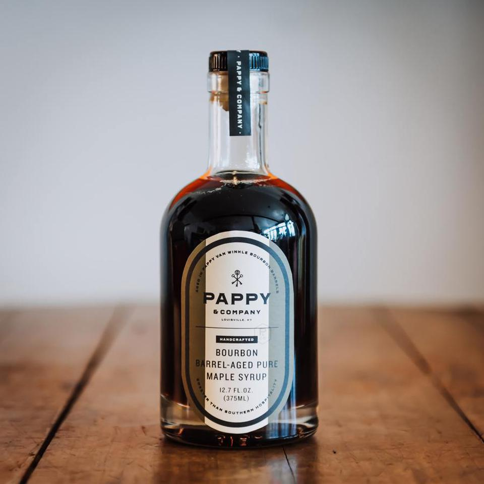 Pappy & Company Bourbon Barrel-Aged Pure Maple Syrup