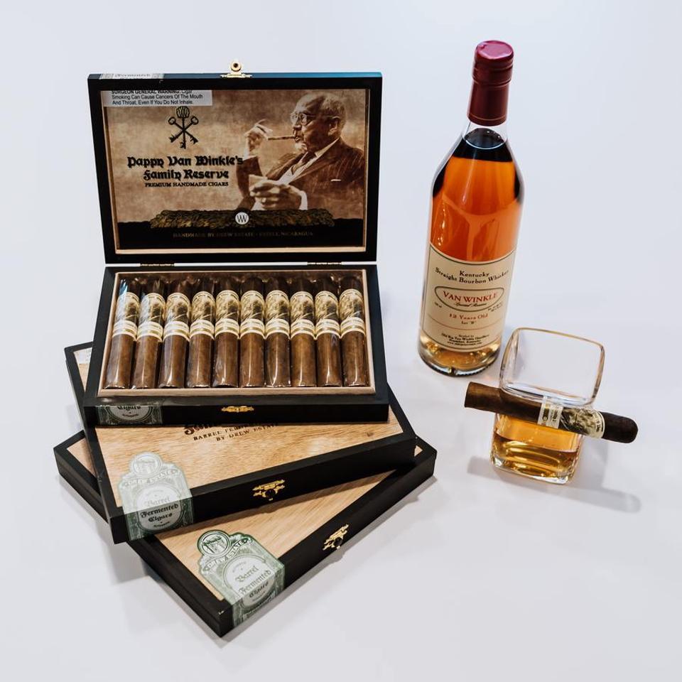 Pappy Van Winkle Barrel-Fermented Cigars