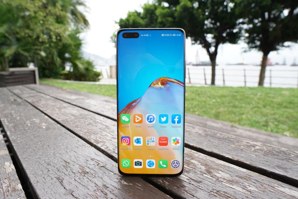 The P40 Pro Plus has a 90Hz OLED panel.