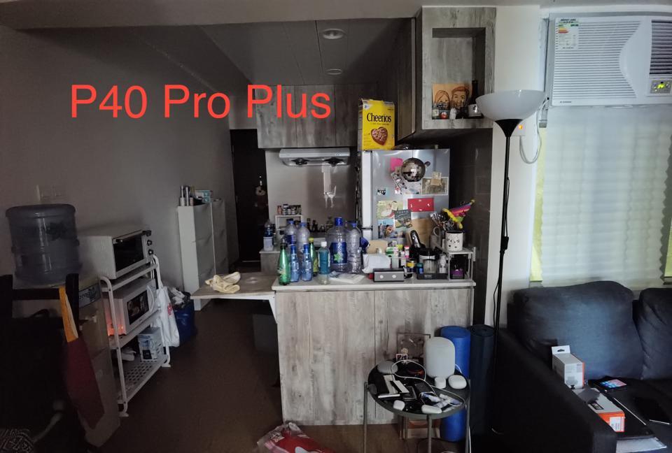 The P40 Pro Plus' ultrawide angle image.