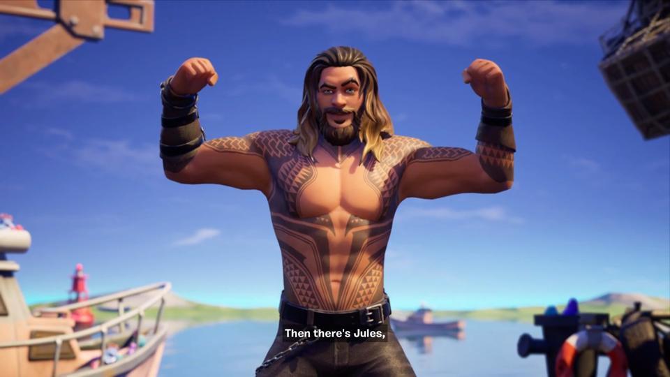 Aquaman Jason Momoa Fortnite Skin