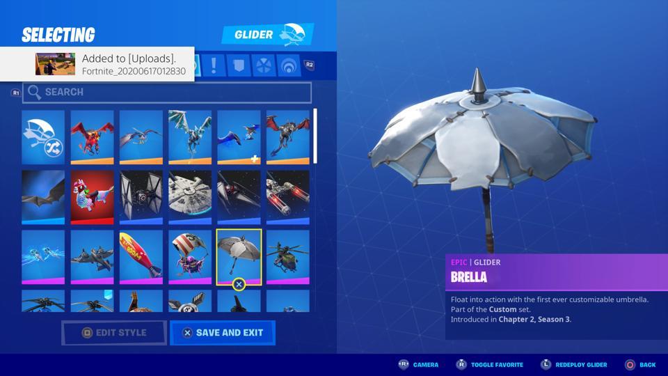 Fortnite Season 3 Umbrella