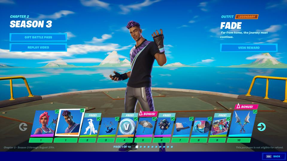 Fortnite Chapter 2 Season 3 All The Awesome New Battle Pass Skins Including Aquaman