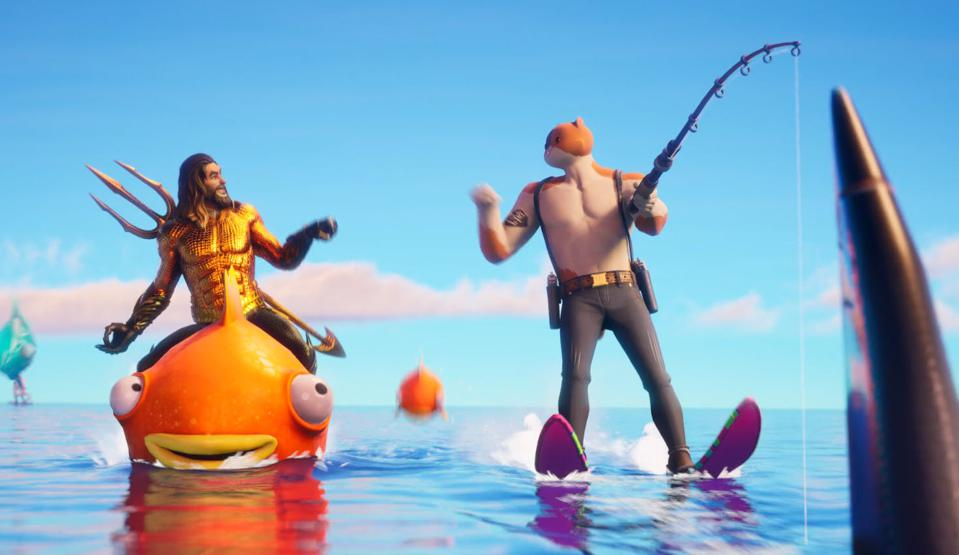Fortnite Chapter 2 Season 3 Debuts Its Drowned Map With A New