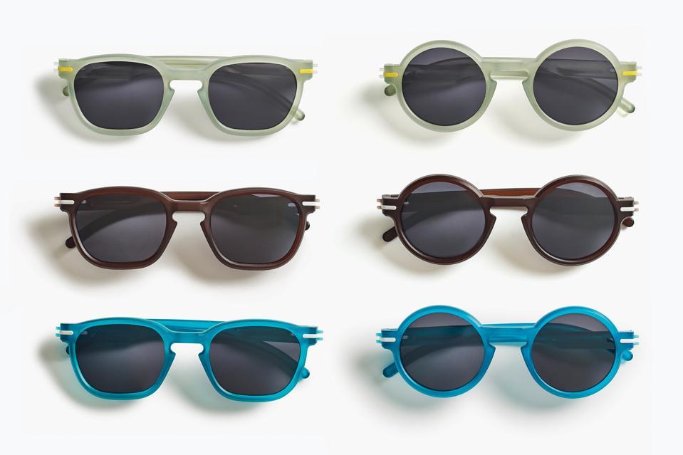 A range of sunglasses