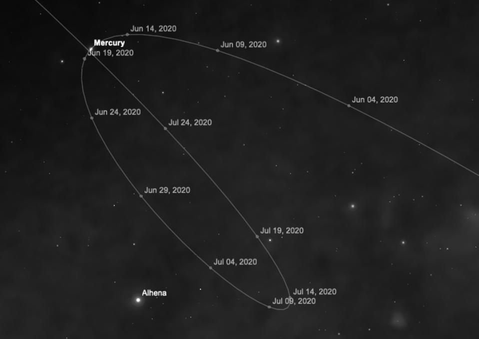 Mercury will begin its next retrograde motion on Thursday, June 18.