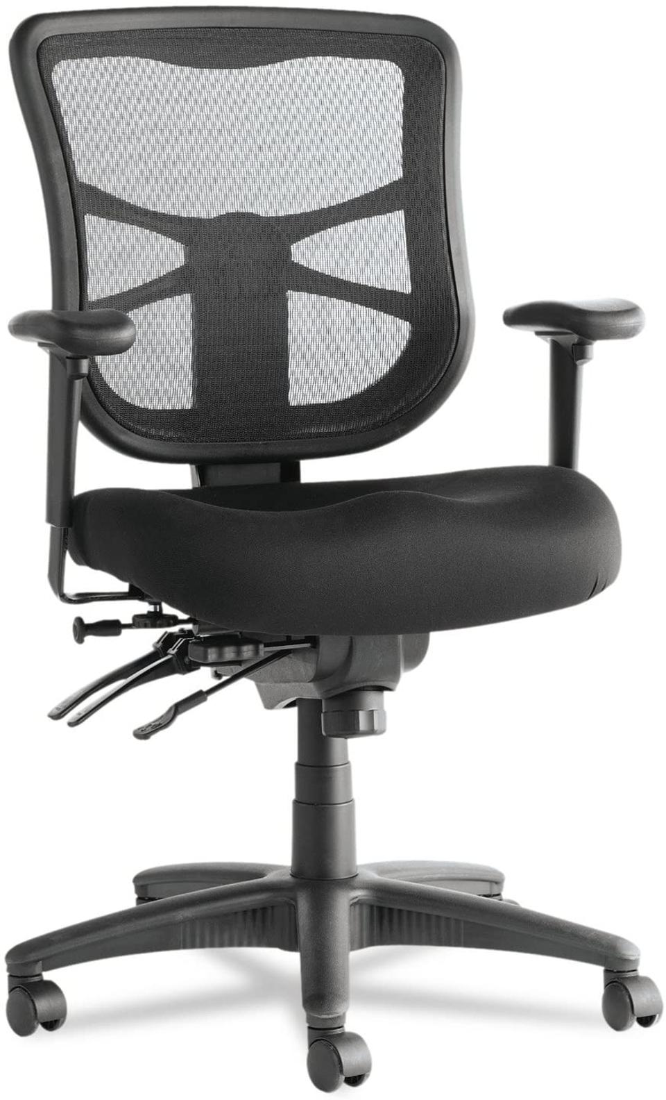 Alera Elusion Series Mesh Mid-Back Chair