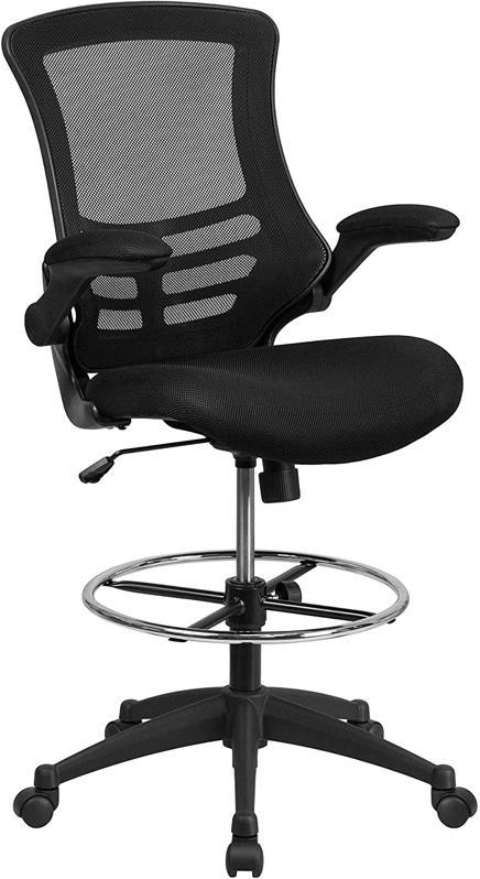 Flash Furniture Mesh Ergonomic Drafting Chair
