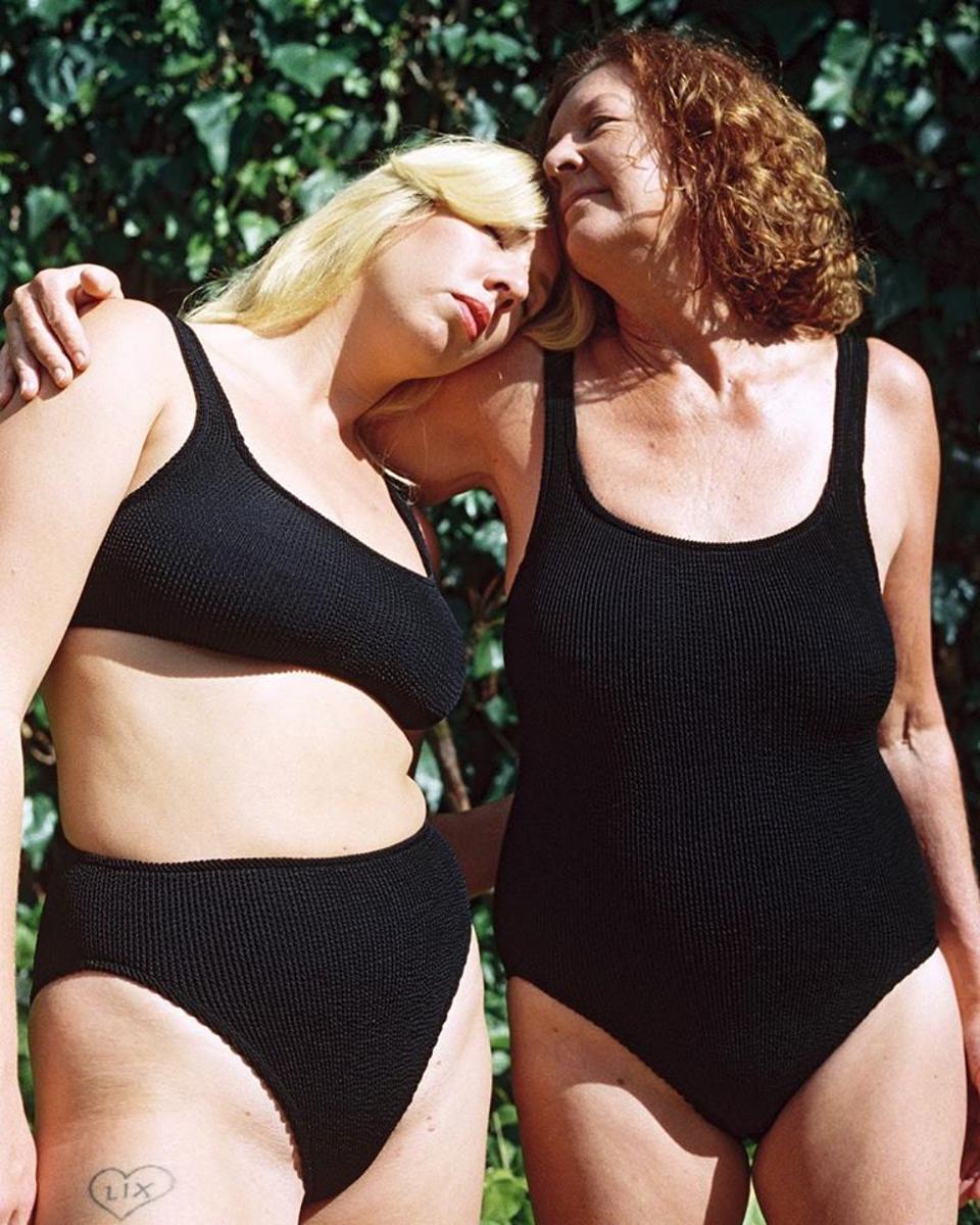 Two women wearing You Swim swimsuits