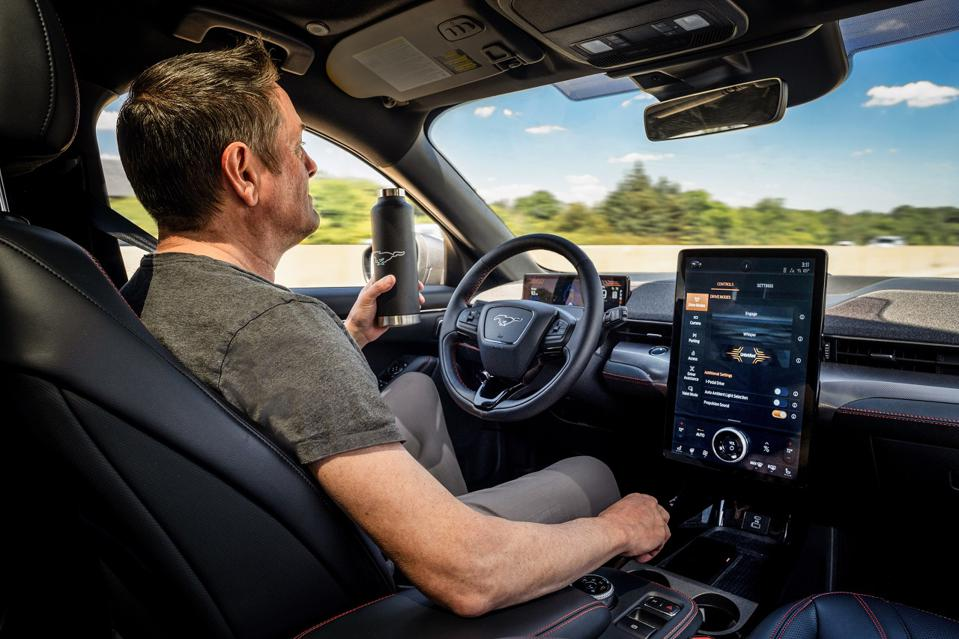 The 2021 Ford Mustang Mach-E will offer hands-free driving with Active Drive Assist