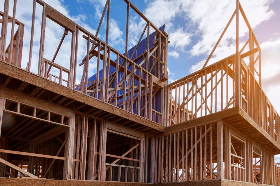 New home construction may finally be seeing a turnaround.