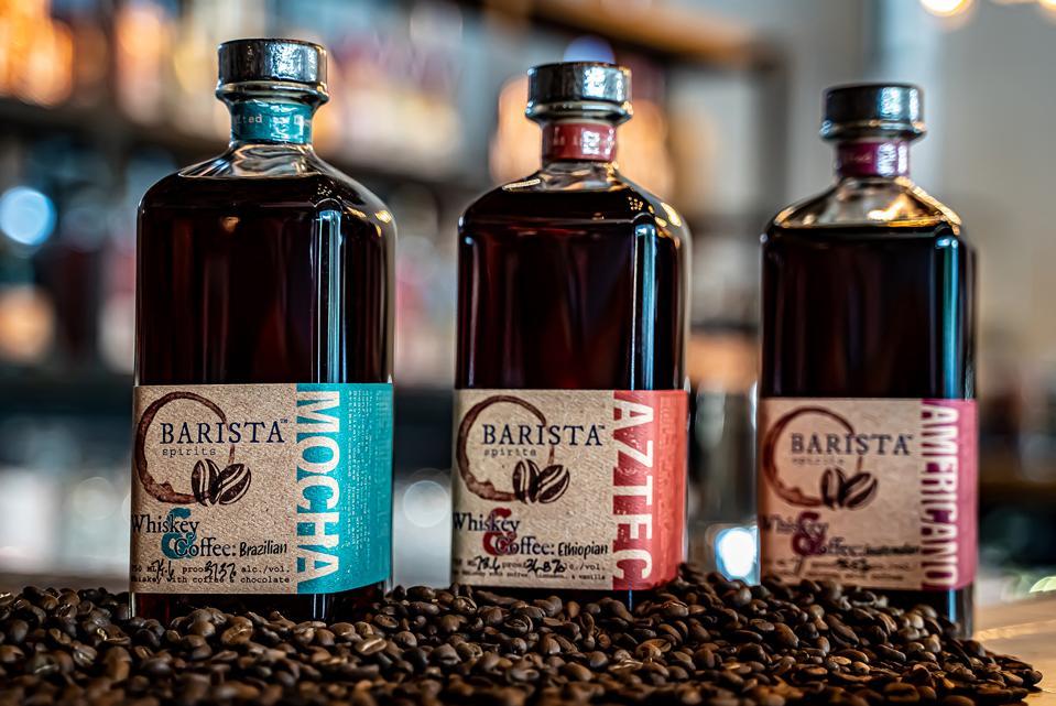 Barista Spirits coffee whiskeys