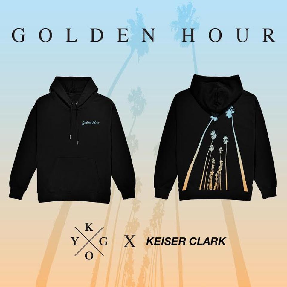 Keiser Clark x Kygo Golden Hour Sweatshirt.