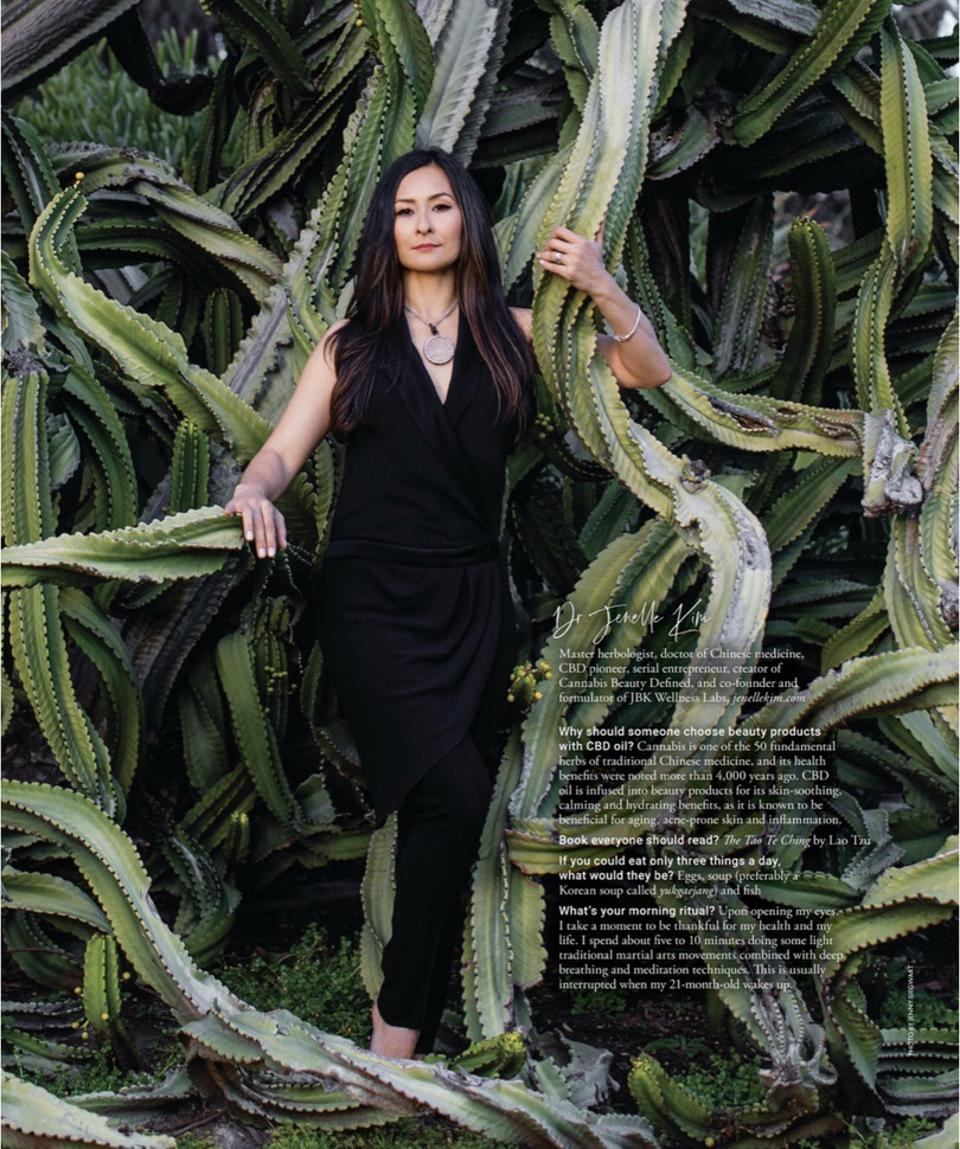 Dr. Jenelle Kim in Modern Luxury Health and Wellness issue