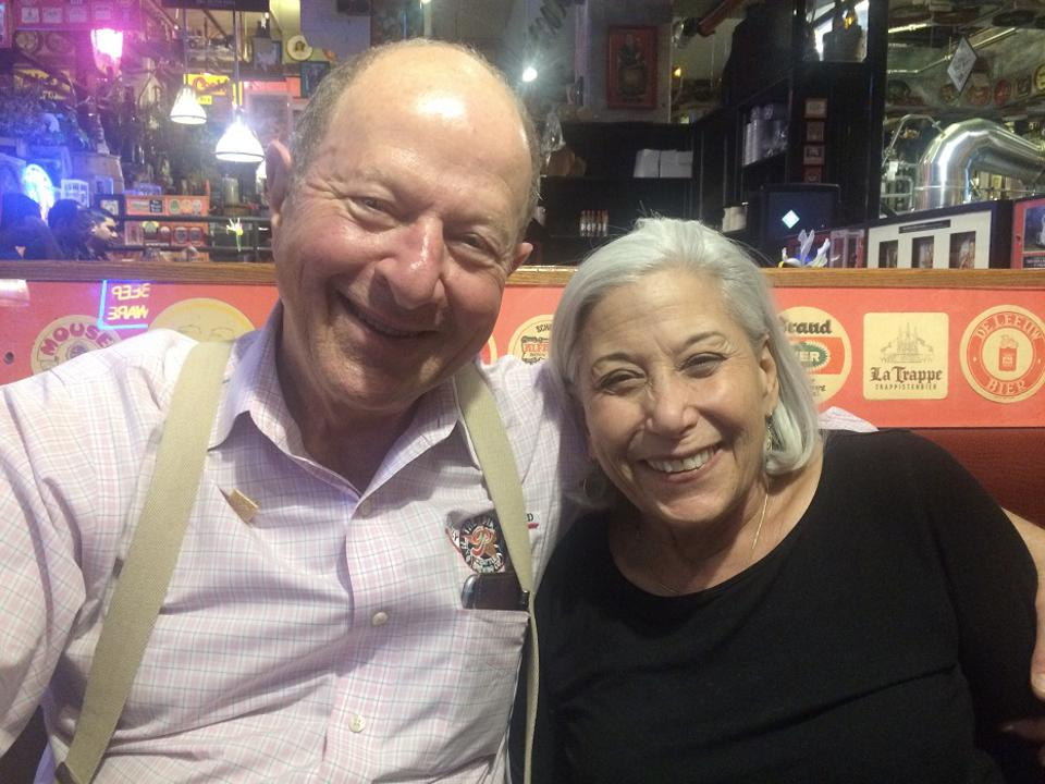 Rose Ann and Charles Finkel at The Pike Brewing Co.'s on-site pub.