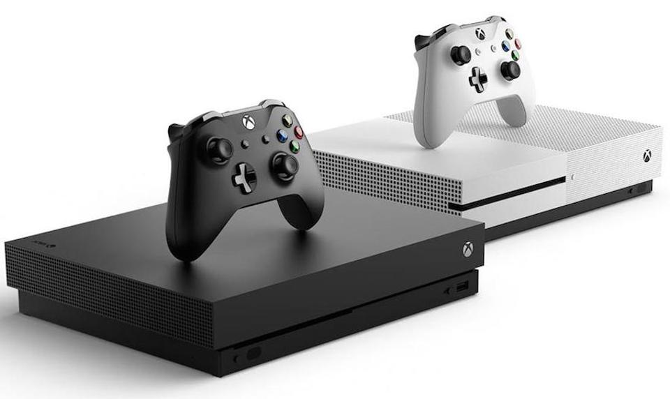The Xbox One X and S