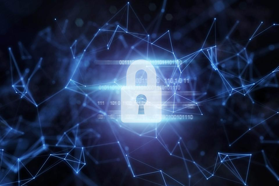 Security padlock protection in network