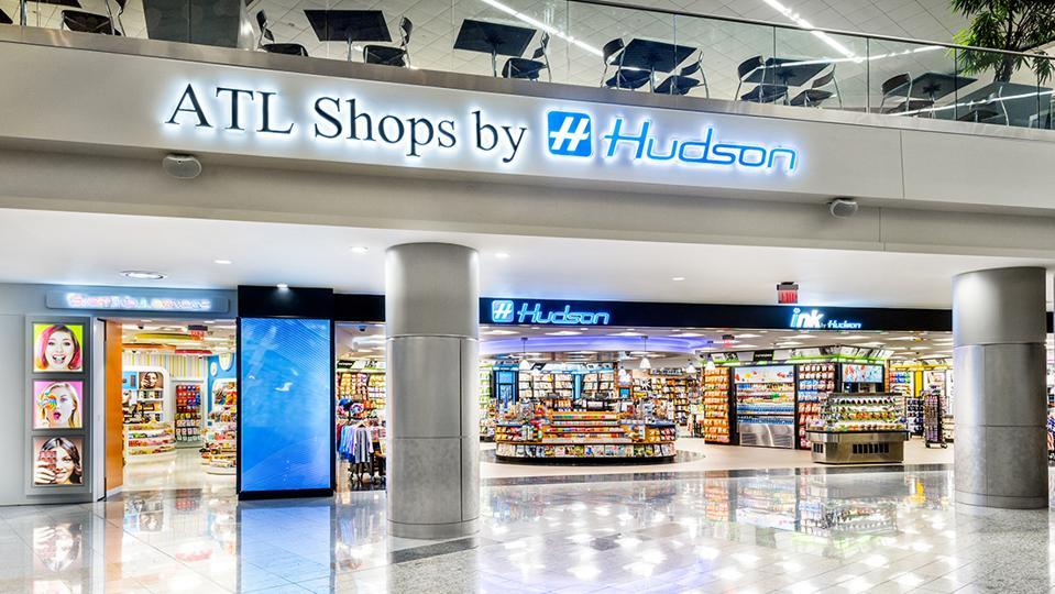 Hudson store front at Hartsfield–Jackson Atlanta International Airport