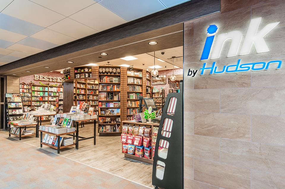 Ink by Hudson storefront at Tuscon International Airport
