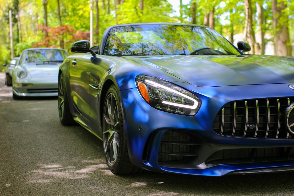 2020 Mercedes AMG GT R Roadster & Friends