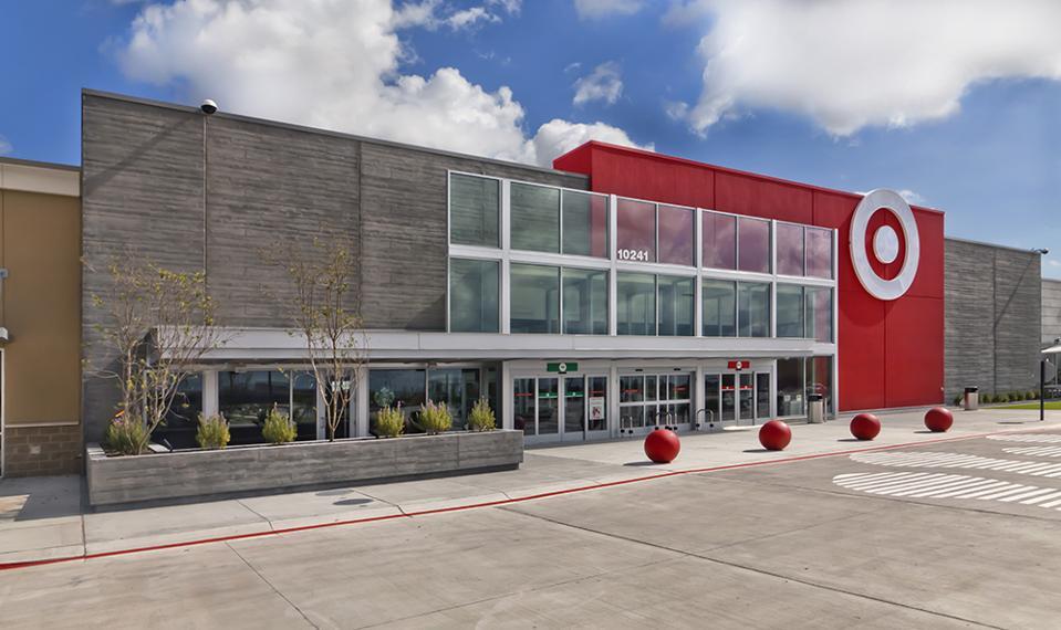 Target storefront Richmond