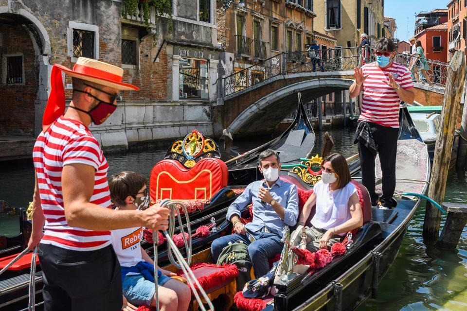 Venise pendant le coronavirus